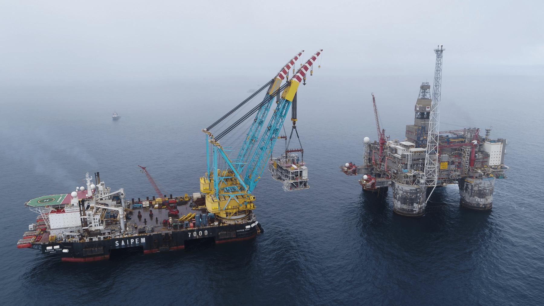Credit: Wintershall Dea/John Iver Berg - From the Dvalin field development in the North Sea.