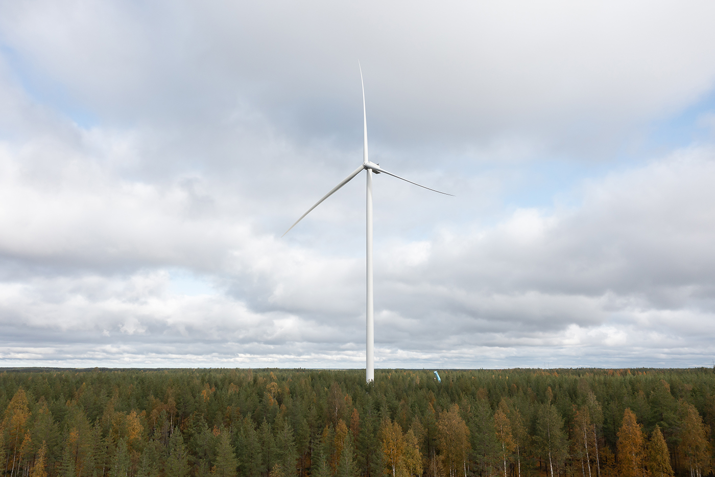 The first MLK wind turbine is up and running