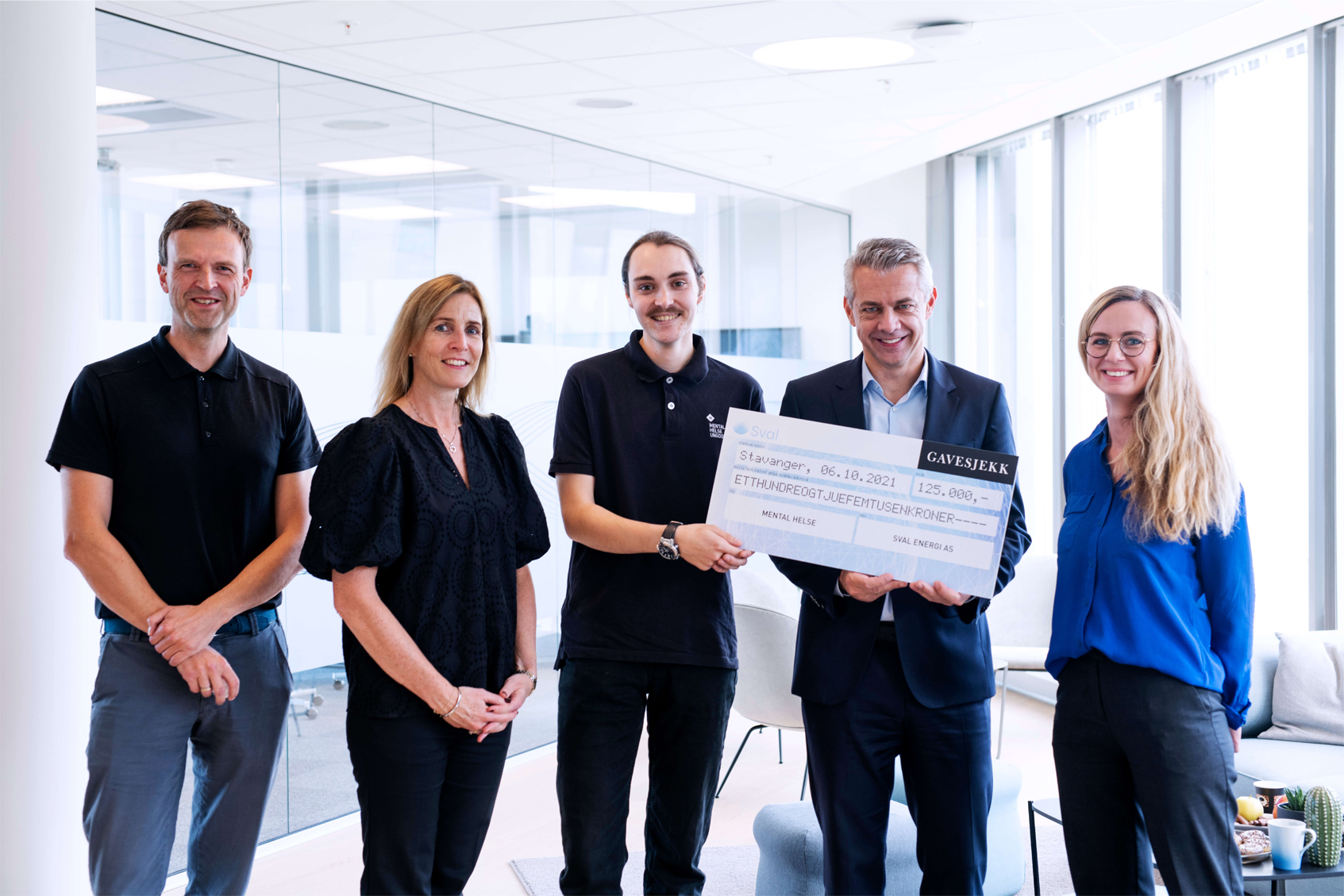 Sval Energi supports Youth Mental Health